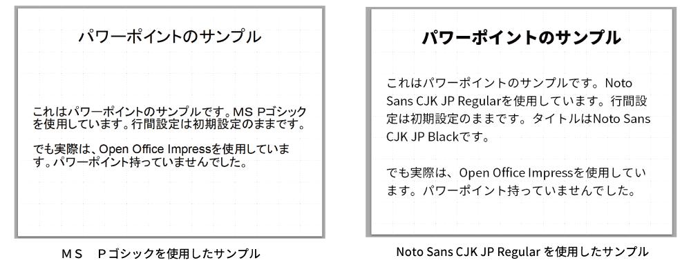 Google無料フォント「Noto Sans CJK JP」と「Noto Serif CJK JP」の